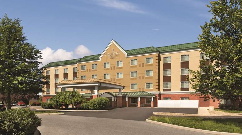 """Country Inn  and  Suites Hagerstown Exterior. Images powered by <a href=""""http://web.iceportal.com"""" target=""""_blank"""" rel=""""noopener"""">Ice Portal</a>."""