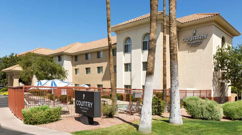 """Country Inn  and  Suites Phoenix Airport Exterior. Images powered by <a href=""""http://web.iceportal.com"""" target=""""_blank"""" rel=""""noopener"""">Ice Portal</a>."""