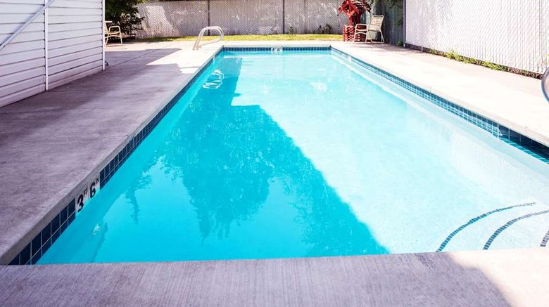 """Howard Johnson by Wyndham Spokane North Pool. Images powered by <a href=""""http://web.iceportal.com"""" target=""""_blank"""" rel=""""noopener"""">Ice Portal</a>."""