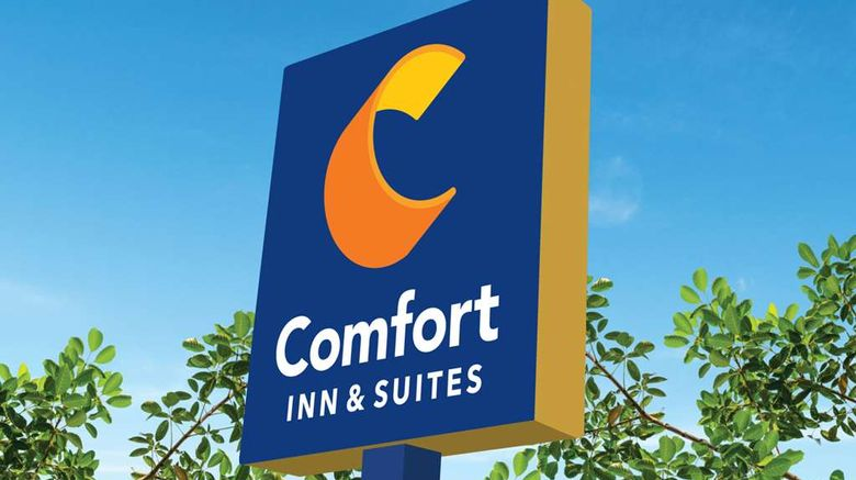"""Comfort Inn  and  Suites Denison North Exterior. Images powered by <a href=""""http://web.iceportal.com"""" target=""""_blank"""" rel=""""noopener"""">Ice Portal</a>."""