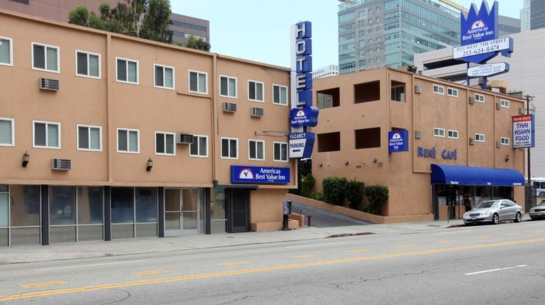 """Americas Best Value Inn Los Angeles Exterior. Images powered by <a href=""""http://web.iceportal.com"""" target=""""_blank"""" rel=""""noopener"""">Ice Portal</a>."""