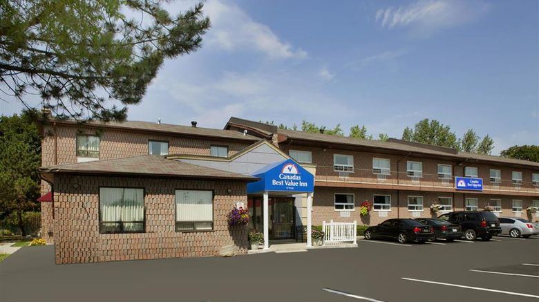 """Canadas Best Value Inn-Richmond Hill Exterior. Images powered by <a href=""""http://web.iceportal.com"""" target=""""_blank"""" rel=""""noopener"""">Ice Portal</a>."""