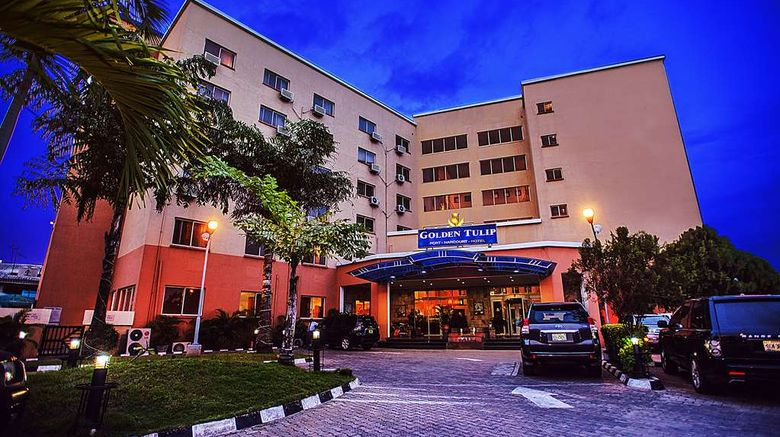 """Golden Tulip Port-Harcourt Hotel Exterior. Images powered by <a href=""""http://web.iceportal.com"""" target=""""_blank"""" rel=""""noopener"""">Ice Portal</a>."""