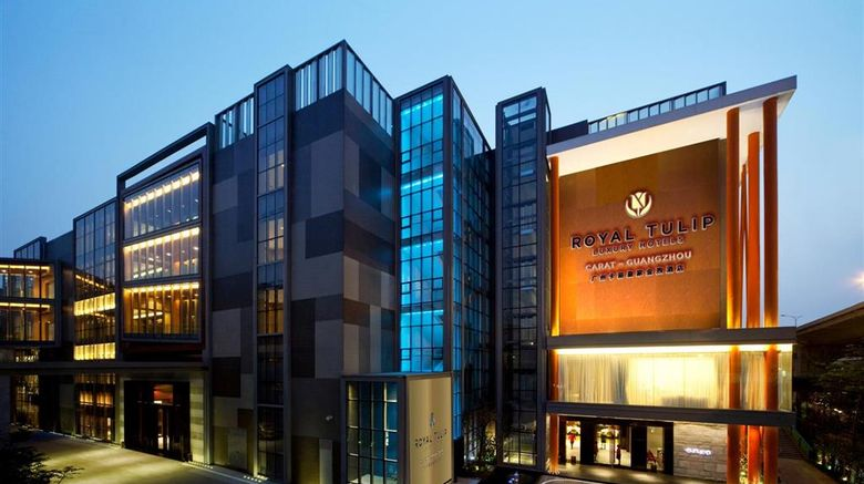 """Royal Tulip Carat Guangzhou Exterior. Images powered by <a href=""""http://web.iceportal.com"""" target=""""_blank"""" rel=""""noopener"""">Ice Portal</a>."""