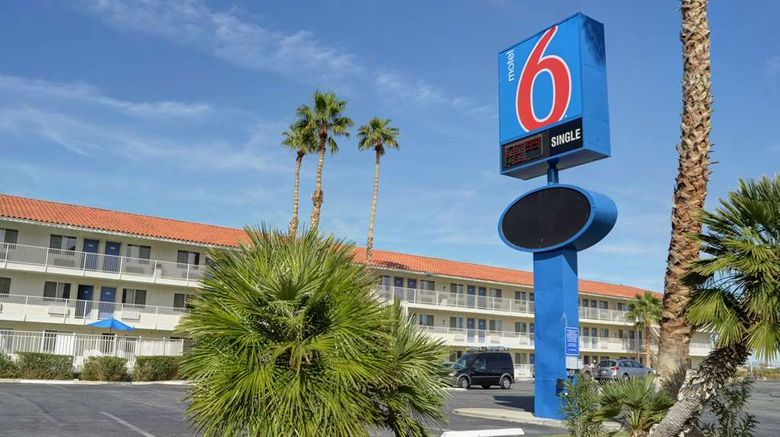 """Motel 6 Twentynine Palms Exterior. Images powered by <a href=""""http://web.iceportal.com"""" target=""""_blank"""" rel=""""noopener"""">Ice Portal</a>."""