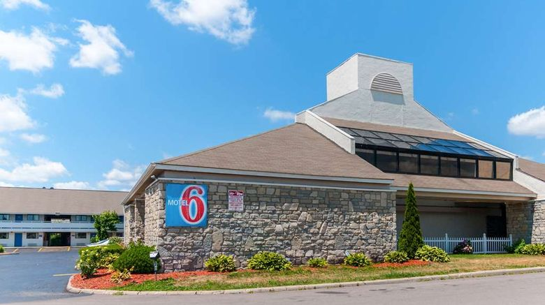 """Motel 6 Detroit - Southgate Exterior. Images powered by <a href=""""http://web.iceportal.com"""" target=""""_blank"""" rel=""""noopener"""">Ice Portal</a>."""