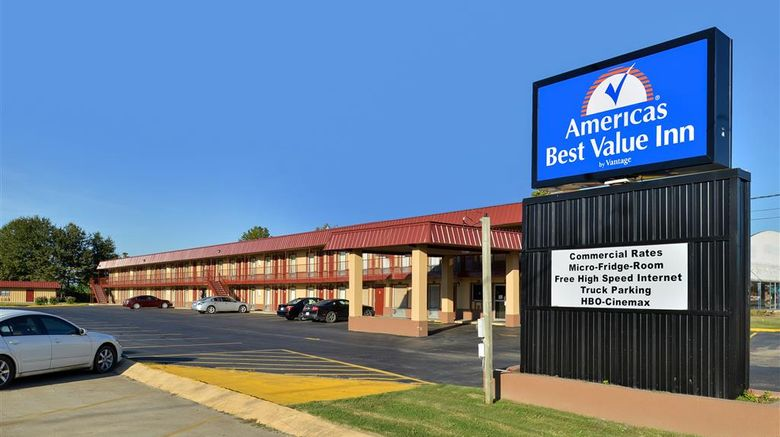 """Americas Best Value Inn Indianola Exterior. Images powered by <a href=""""http://web.iceportal.com"""" target=""""_blank"""" rel=""""noopener"""">Ice Portal</a>."""