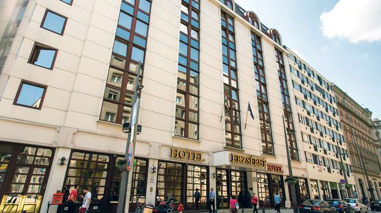 """Danubis Hotel Erzsebet Exterior. Images powered by <a href=""""http://web.iceportal.com"""" target=""""_blank"""" rel=""""noopener"""">Ice Portal</a>."""