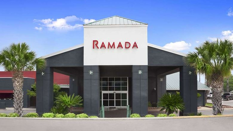 """Ramada Del Rio Exterior. Images powered by <a href=""""http://web.iceportal.com"""" target=""""_blank"""" rel=""""noopener"""">Ice Portal</a>."""