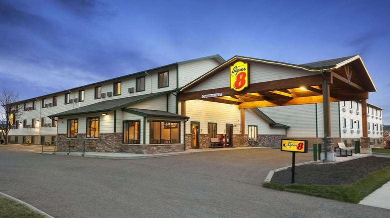 """Super 8 Bozeman Exterior. Images powered by <a href=""""http://web.iceportal.com"""" target=""""_blank"""" rel=""""noopener"""">Ice Portal</a>."""