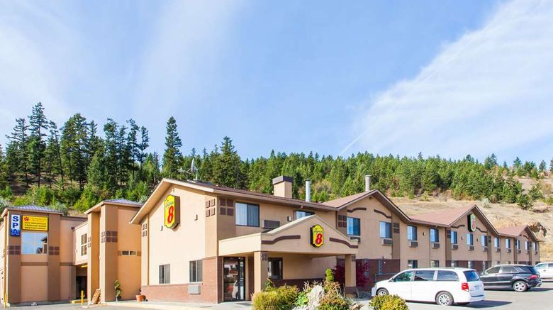 """Super 8 Kamloops BC Exterior. Images powered by <a href=""""http://web.iceportal.com"""" target=""""_blank"""" rel=""""noopener"""">Ice Portal</a>."""
