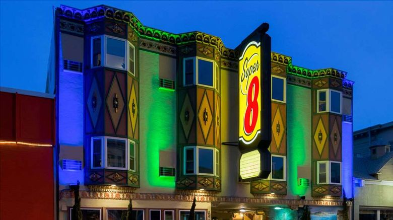 """Super 8 San Francisco/Near the Marina Exterior. Images powered by <a href=""""http://web.iceportal.com"""" target=""""_blank"""" rel=""""noopener"""">Ice Portal</a>."""