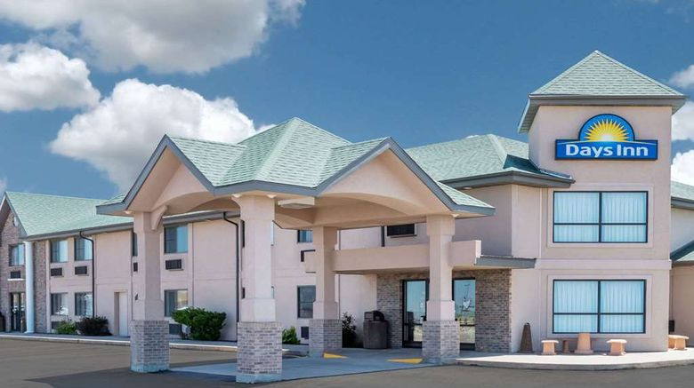 """Days Inn Sidney Exterior. Images powered by <a href=""""http://web.iceportal.com"""" target=""""_blank"""" rel=""""noopener"""">Ice Portal</a>."""