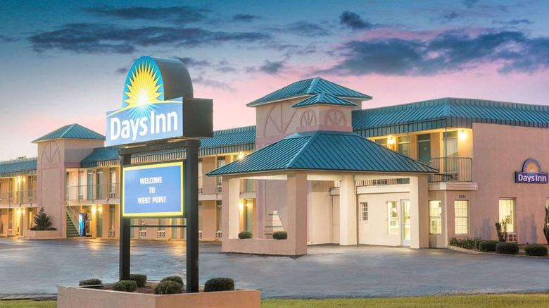 """Days Inn West Point Exterior. Images powered by <a href=""""http://web.iceportal.com"""" target=""""_blank"""" rel=""""noopener"""">Ice Portal</a>."""