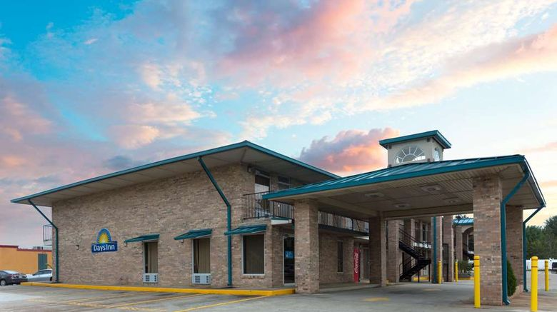 """Days Inn Forest Exterior. Images powered by <a href=""""http://web.iceportal.com"""" target=""""_blank"""" rel=""""noopener"""">Ice Portal</a>."""