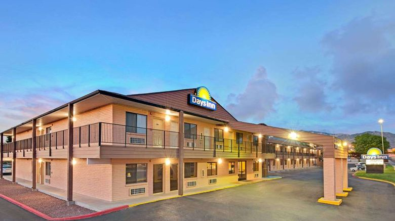 """Days Inn East Albuquerque Exterior. Images powered by <a href=""""http://web.iceportal.com"""" target=""""_blank"""" rel=""""noopener"""">Ice Portal</a>."""