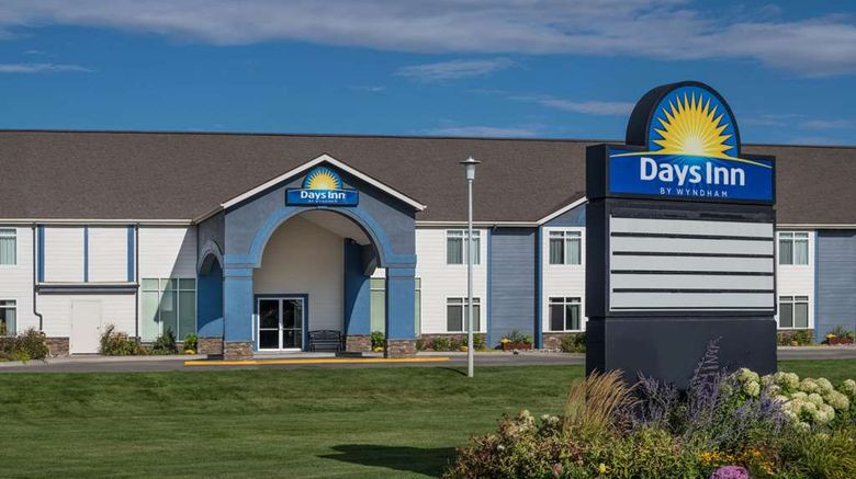"""Days Inn Great Falls Exterior. Images powered by <a href=""""http://web.iceportal.com"""" target=""""_blank"""" rel=""""noopener"""">Ice Portal</a>."""