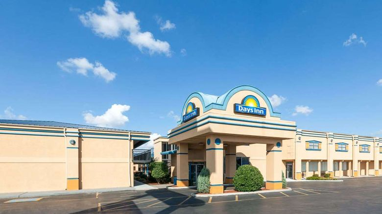 """Days Inn Oklahoma City Fairground Exterior. Images powered by <a href=""""http://web.iceportal.com"""" target=""""_blank"""" rel=""""noopener"""">Ice Portal</a>."""