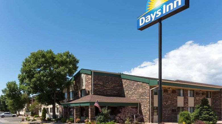 """Days Inn by Wyndham, Fort Collins Exterior. Images powered by <a href=""""http://web.iceportal.com"""" target=""""_blank"""" rel=""""noopener"""">Ice Portal</a>."""