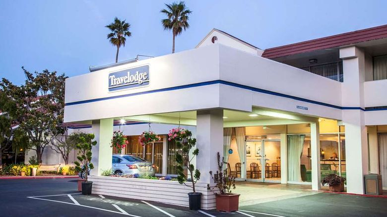 """Monterey Bay Travelodge Exterior. Images powered by <a href=""""http://web.iceportal.com"""" target=""""_blank"""" rel=""""noopener"""">Ice Portal</a>."""