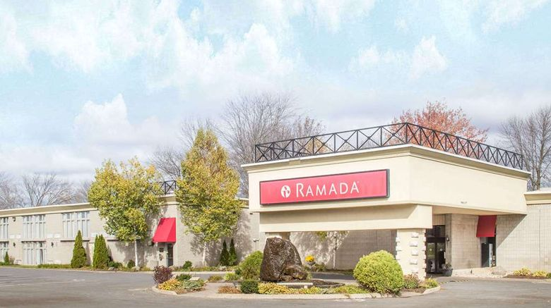 """Ramada Cornwall Exterior. Images powered by <a href=""""http://web.iceportal.com"""" target=""""_blank"""" rel=""""noopener"""">Ice Portal</a>."""