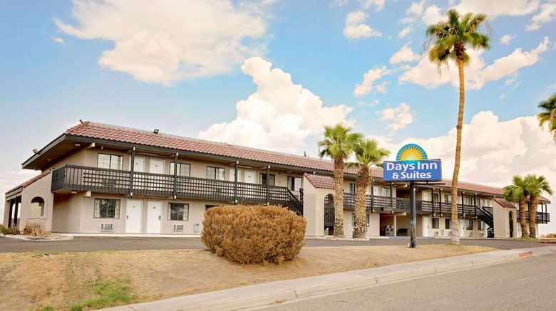 """Days Inn  and  Suites Needles Exterior. Images powered by <a href=""""http://web.iceportal.com"""" target=""""_blank"""" rel=""""noopener"""">Ice Portal</a>."""