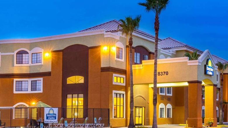 """Days Inn  and  Suites Tucson/Marana Exterior. Images powered by <a href=""""http://web.iceportal.com"""" target=""""_blank"""" rel=""""noopener"""">Ice Portal</a>."""