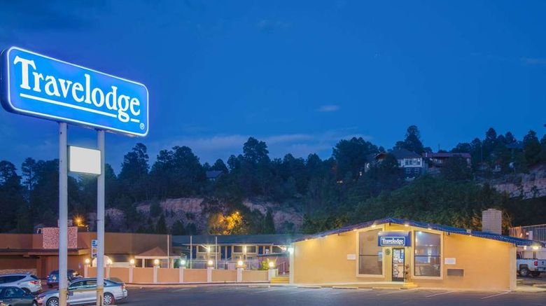 """Travelodge Ruidoso Exterior. Images powered by <a href=""""http://web.iceportal.com"""" target=""""_blank"""" rel=""""noopener"""">Ice Portal</a>."""
