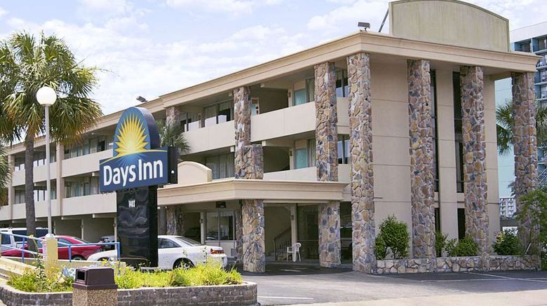 """Days Inn Myrtle Beach-Beach Front Exterior. Images powered by <a href=""""http://web.iceportal.com"""" target=""""_blank"""" rel=""""noopener"""">Ice Portal</a>."""