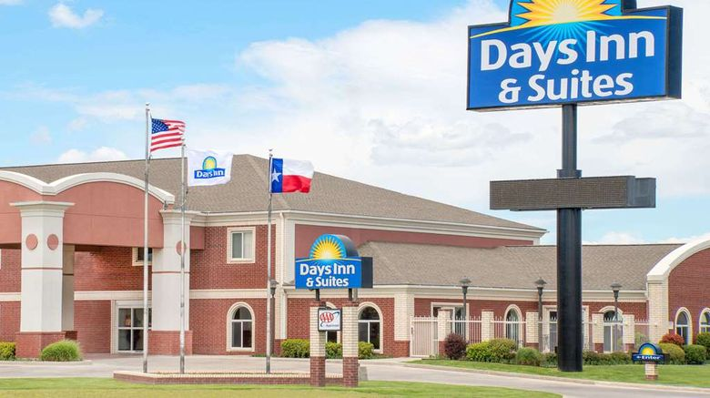 """Days Inn  and  Suites Dumas Exterior. Images powered by <a href=""""http://web.iceportal.com"""" target=""""_blank"""" rel=""""noopener"""">Ice Portal</a>."""