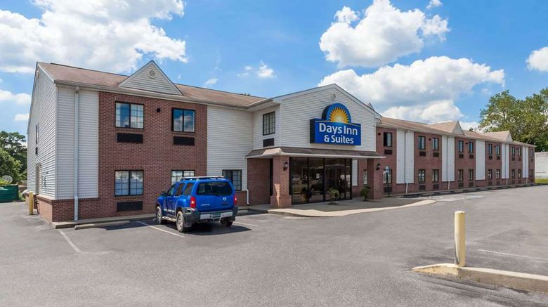 """Days Inn  and  Suites Cambridge Exterior. Images powered by <a href=""""http://web.iceportal.com"""" target=""""_blank"""" rel=""""noopener"""">Ice Portal</a>."""