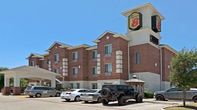 """Super 8 Austin/Airport South Exterior. Images powered by <a href=""""http://web.iceportal.com"""" target=""""_blank"""" rel=""""noopener"""">Ice Portal</a>."""