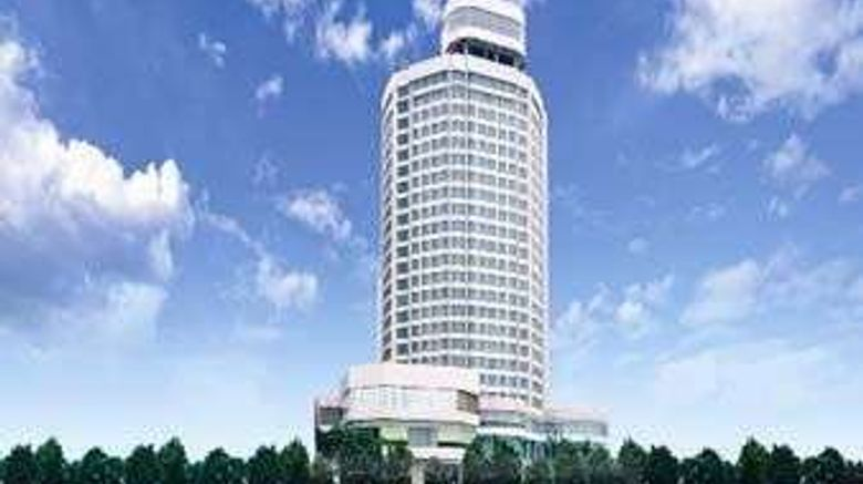 """Ramada Pearl Guangzhou Exterior. Images powered by <a href=""""http://web.iceportal.com"""" target=""""_blank"""" rel=""""noopener"""">Ice Portal</a>."""