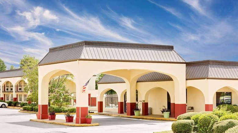 """Days Inn  and  Suites Starkville Exterior. Images powered by <a href=""""http://web.iceportal.com"""" target=""""_blank"""" rel=""""noopener"""">Ice Portal</a>."""