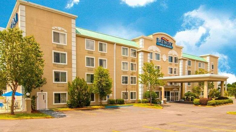 """Baymont Inn  and  Suites Hattiesburg Exterior. Images powered by <a href=""""http://web.iceportal.com"""" target=""""_blank"""" rel=""""noopener"""">Ice Portal</a>."""