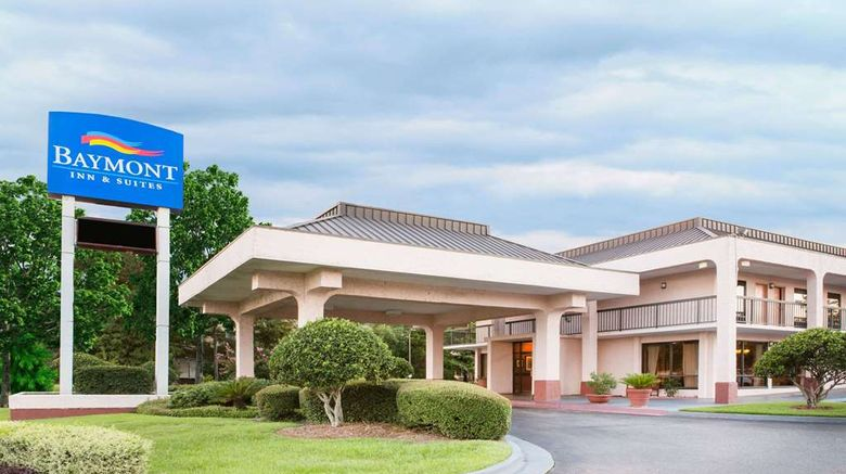 """Baymont Inn  and  Suites Mobile/ I-65 Exterior. Images powered by <a href=""""http://web.iceportal.com"""" target=""""_blank"""" rel=""""noopener"""">Ice Portal</a>."""