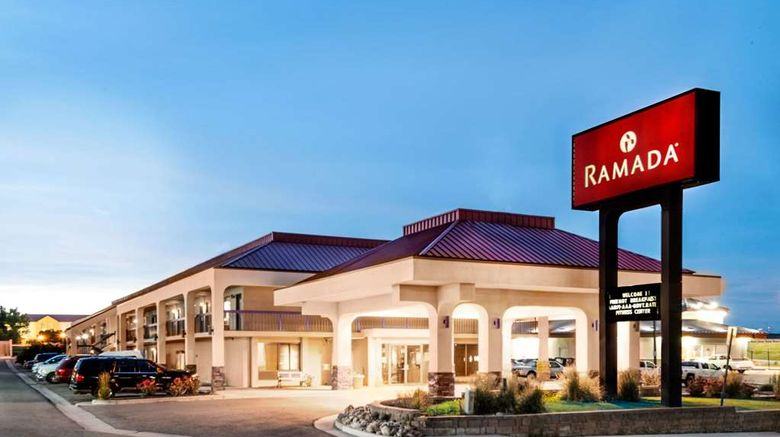 """Ramada Pueblo Exterior. Images powered by <a href=""""http://web.iceportal.com"""" target=""""_blank"""" rel=""""noopener"""">Ice Portal</a>."""