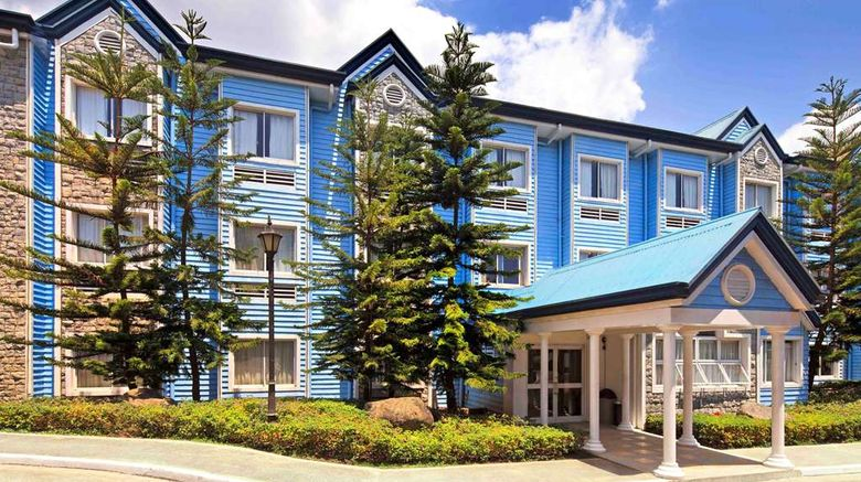 """Microtel by Wyndham Baguio Exterior. Images powered by <a href=""""http://web.iceportal.com"""" target=""""_blank"""" rel=""""noopener"""">Ice Portal</a>."""