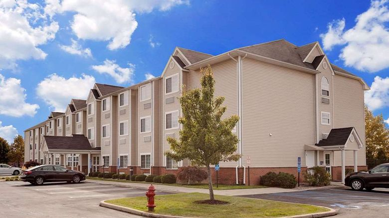 """Microtel Inn  and  Suites Middletown Exterior. Images powered by <a href=""""http://web.iceportal.com"""" target=""""_blank"""" rel=""""noopener"""">Ice Portal</a>."""