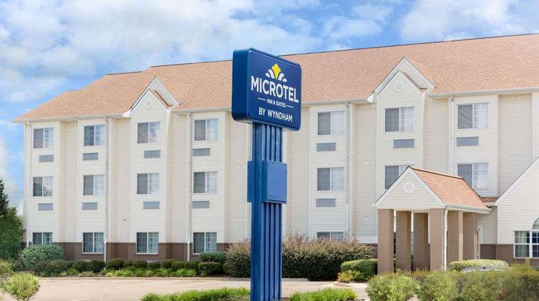 """Microtel Inn  and  Suites Starkville Exterior. Images powered by <a href=""""http://web.iceportal.com"""" target=""""_blank"""" rel=""""noopener"""">Ice Portal</a>."""