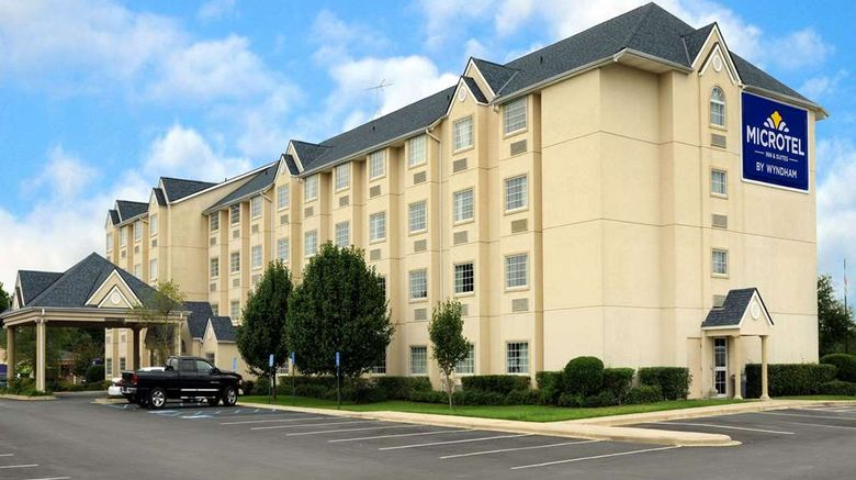 """Microtel Inn  and  Suites Bossier City Exterior. Images powered by <a href=""""http://web.iceportal.com"""" target=""""_blank"""" rel=""""noopener"""">Ice Portal</a>."""