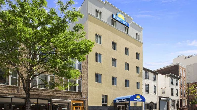 """Days Inn Philadelphia Convention Ctr Exterior. Images powered by <a href=""""http://web.iceportal.com"""" target=""""_blank"""" rel=""""noopener"""">Ice Portal</a>."""
