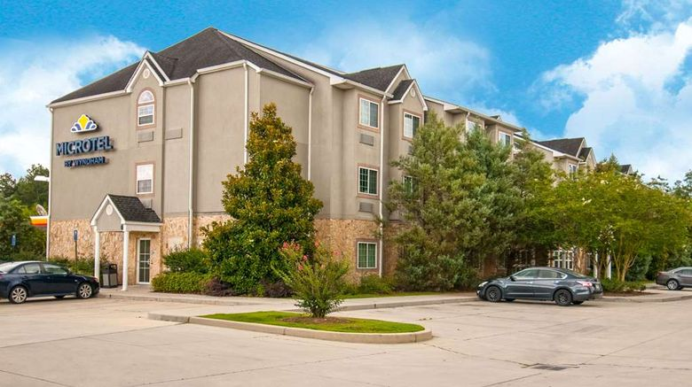 """Microtel Inn/Suites Pearl River/Slidell Exterior. Images powered by <a href=""""http://web.iceportal.com"""" target=""""_blank"""" rel=""""noopener"""">Ice Portal</a>."""