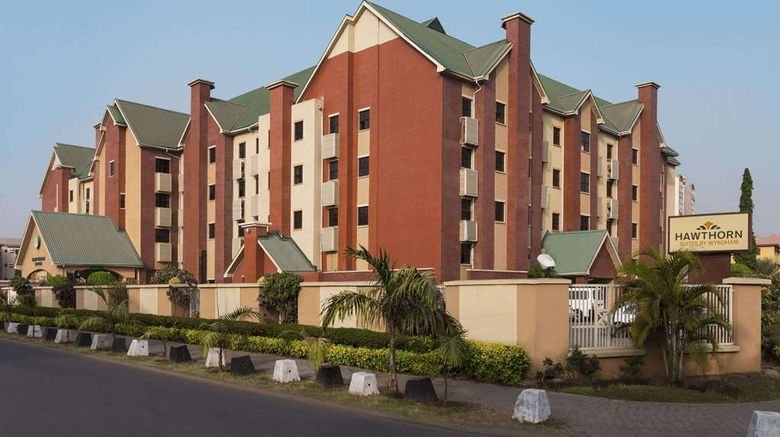 """Hawthorn Suites by Wyndham Abuja Exterior. Images powered by <a href=""""http://web.iceportal.com"""" target=""""_blank"""" rel=""""noopener"""">Ice Portal</a>."""