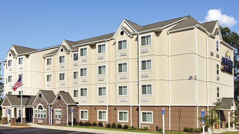 """Microtel Inn  and  Suites Anderson/Clemson Exterior. Images powered by <a href=""""http://web.iceportal.com"""" target=""""_blank"""" rel=""""noopener"""">Ice Portal</a>."""