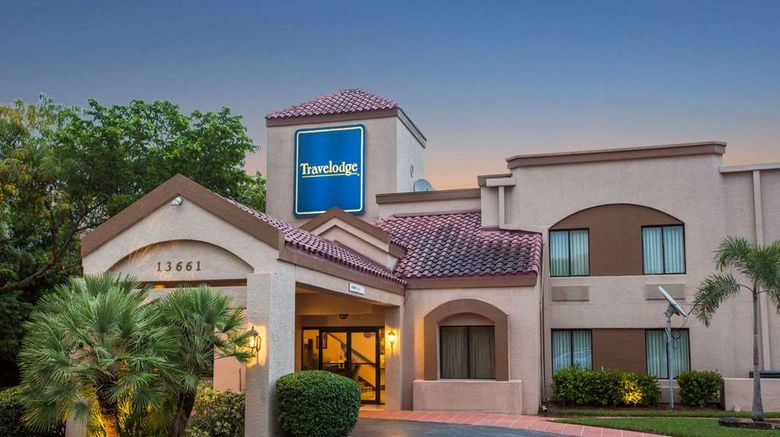 """Travelodge Fort Myers Airport Exterior. Images powered by <a href=""""http://web.iceportal.com"""" target=""""_blank"""" rel=""""noopener"""">Ice Portal</a>."""