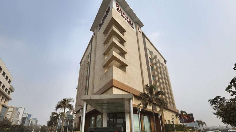"Ramada Gurgaon Central Exterior. Images powered by <a href=""http://web.iceportal.com"" target=""_blank"" rel=""noopener"">Ice Portal</a>."
