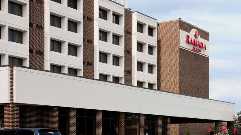 """Ramada Plaza Hagerstown Exterior. Images powered by <a href=""""http://web.iceportal.com"""" target=""""_blank"""" rel=""""noopener"""">Ice Portal</a>."""