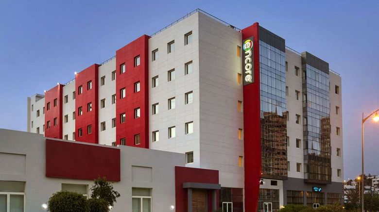 """Ramada Encore Tangier Exterior. Images powered by <a href=""""http://web.iceportal.com"""" target=""""_blank"""" rel=""""noopener"""">Ice Portal</a>."""