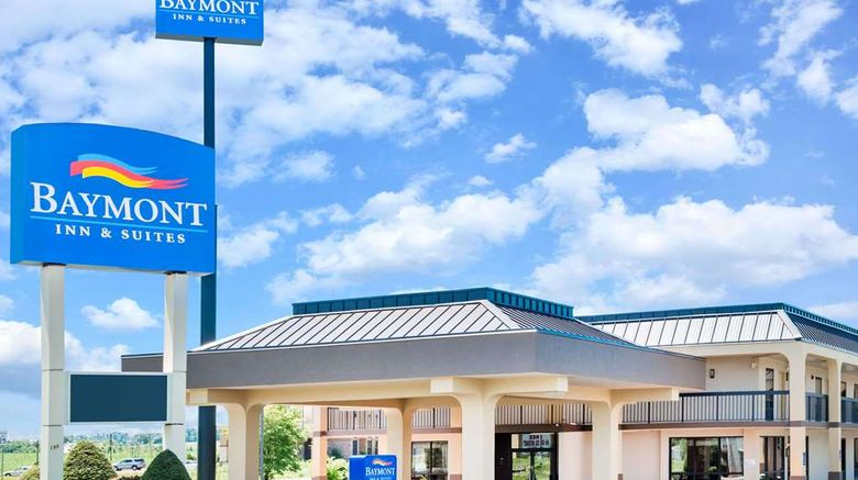 """Baymont Inn/Suites Clarksville Northeast Exterior. Images powered by <a href=""""http://web.iceportal.com"""" target=""""_blank"""" rel=""""noopener"""">Ice Portal</a>."""